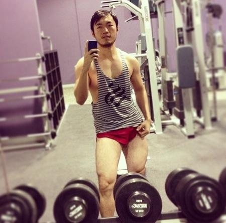 Gym selfies - reprehensible.