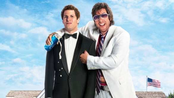 It looks like Andy Samberg feels the same way as that extra up top